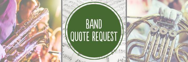 Band Landing Page